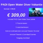 PADI Open Water Diver Vakantie cursus 14 januari 2019